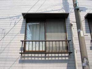 窓手すり&ひさし